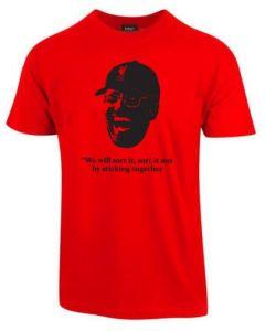 Klopp t-skjorte rød